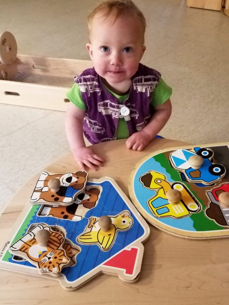 Ttoddler wooden puzzle