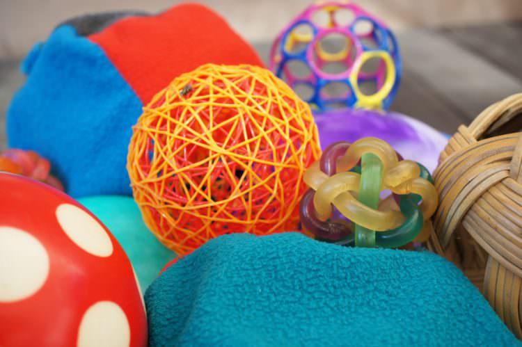 exploring objects baby development milestone