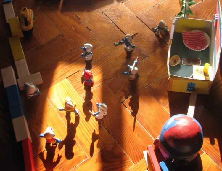 symbolic play cognitive development milestone