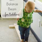 DIY Wooden Balance Beam