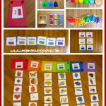 Montessori Inspired Toddler Rainbow Unit