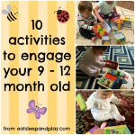 Activities for your 9-12 Month Old