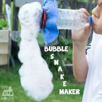 A Bubble Snake Maker