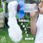 A Bubble Snake Maker
