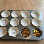 Number Identification with Gold Coins