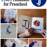 Letter J Activities