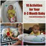 10 Activities for 0-3 Month Baby