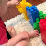 Teaching Colors with Mega Blocks