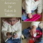 Fine Motor Activities for Babies and Toddlers