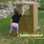 Toddler Football Toss