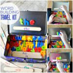 Word Build Activity Travel Kit