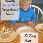 Kids Friendly Gingerbread Houses