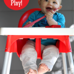 High Chair Play Activity